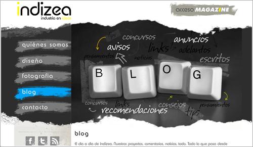 Diseño sitio web de fotografía