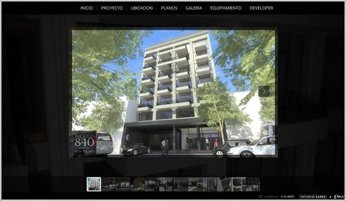 Diseño de sitio web flash