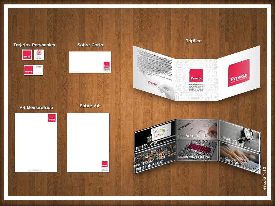Diseño gráfico - ¨Papelería Institucional